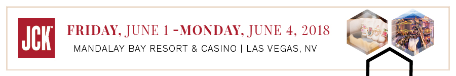 JCK Las Vegas | Friday, June 1 - Monday, June 4, 2018