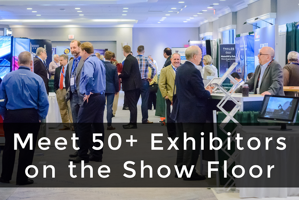 Meet 50+ Exhibitors!