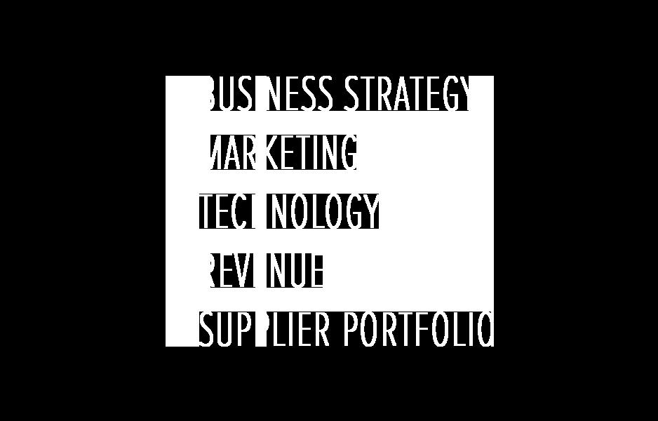 Business Strategy, Marketing, Technology, Revenue and Supplier Portfolio