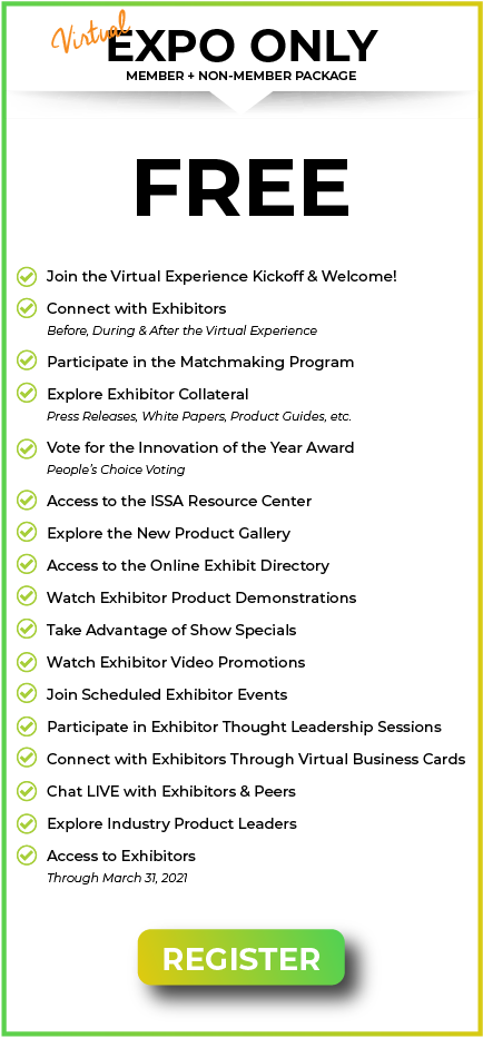 Register Today for the Virtual Experience Expo Only Pass