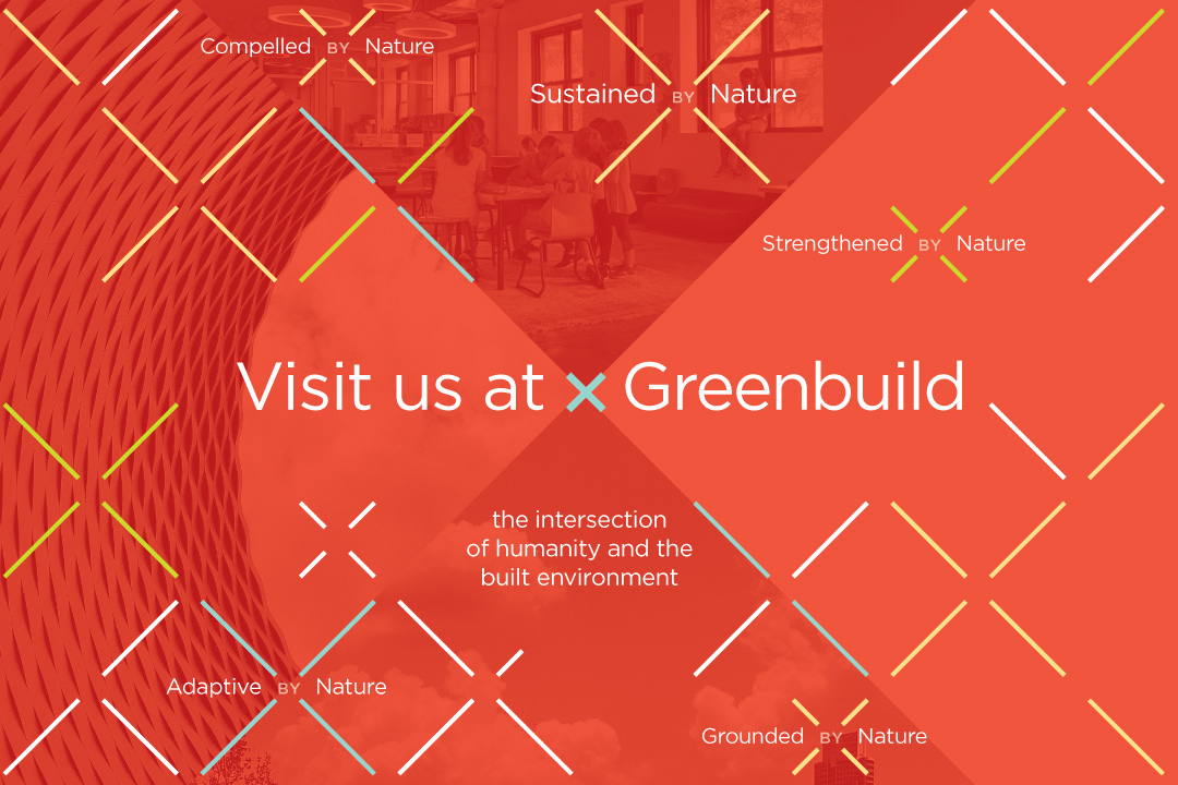 Be our guest at Greenbuild 2018 in Chicago!
