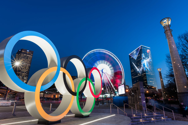 Atlanta Centennial Olympic Park Rings